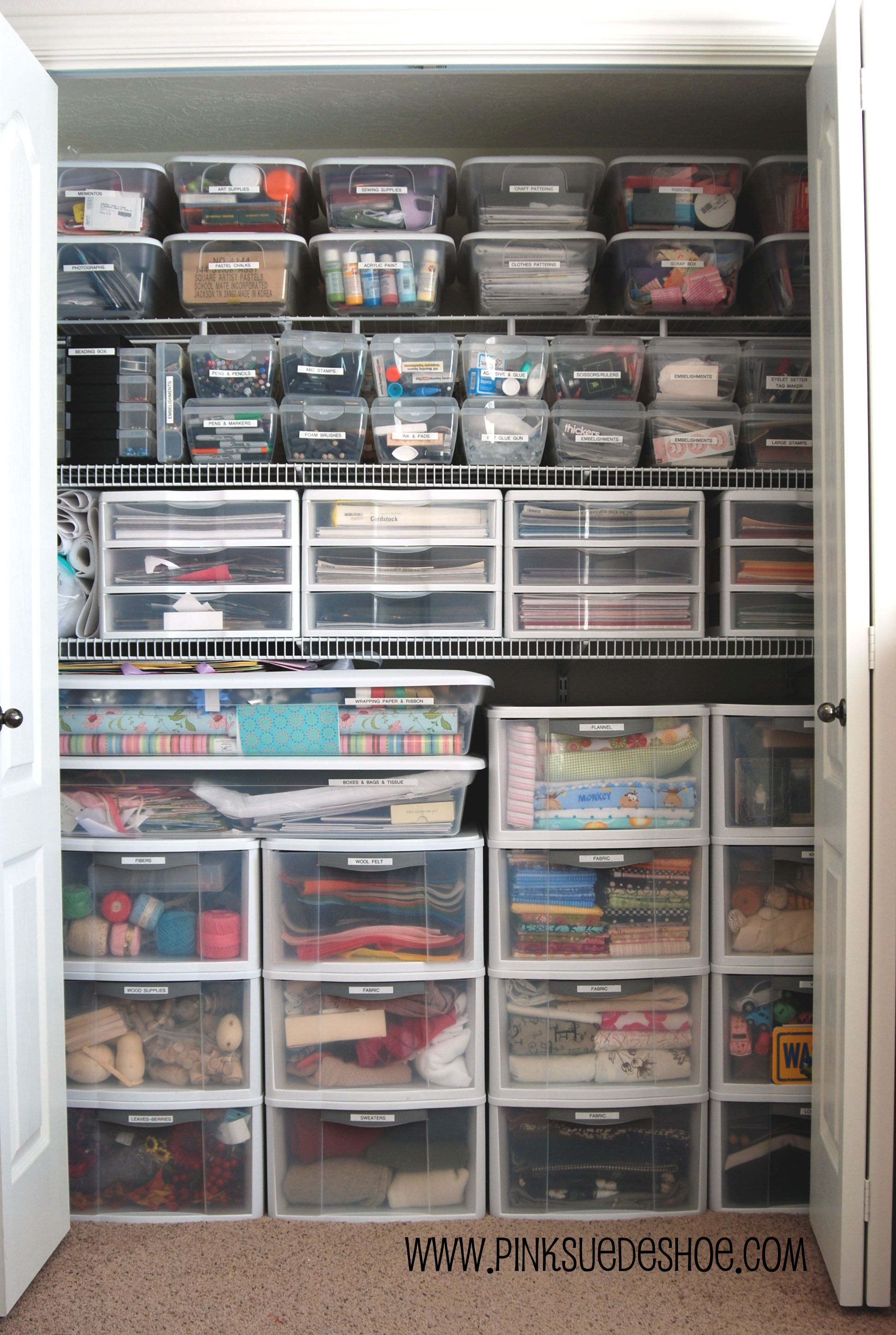 Supply Closet Organization Ideas Part - 48: One Small Dream Come True