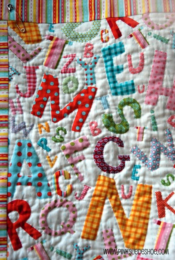 My Girl Friday Andover Fabrics Alphabet Soup