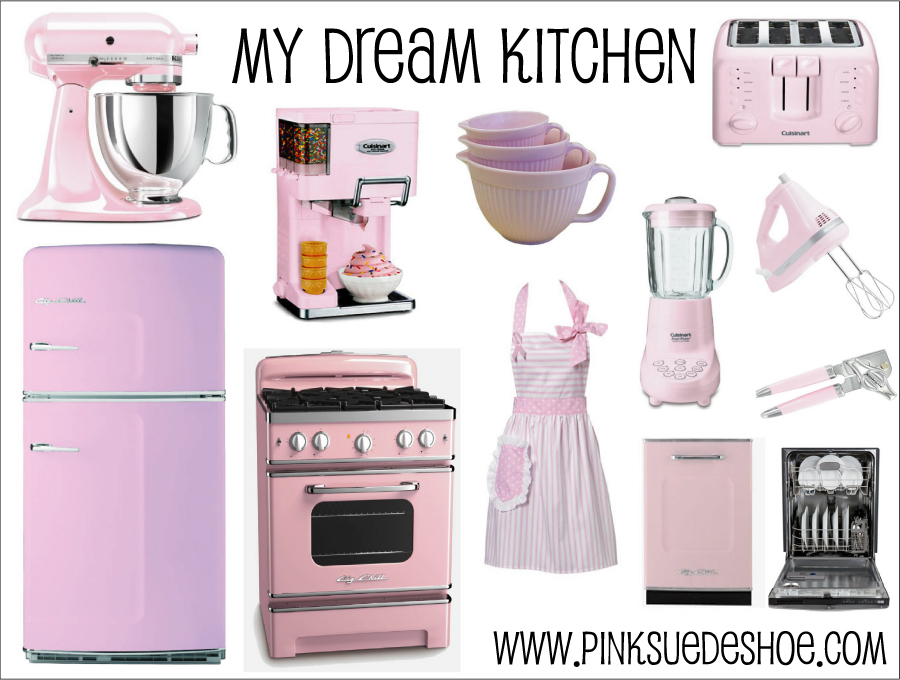 A very Pink Kitchen | pinksuedeshoe